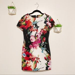 Sandra Darren Floral Dress
